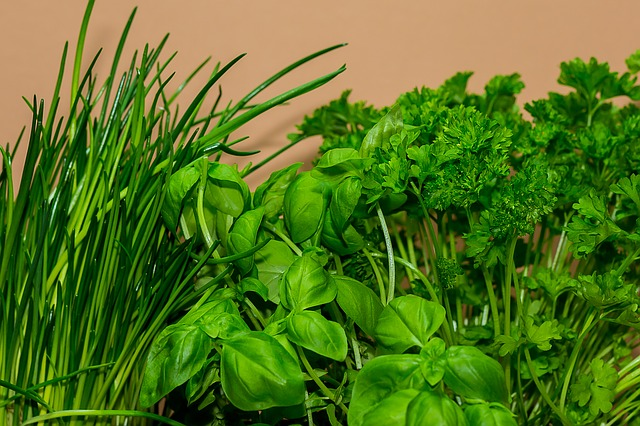 Parsley is not just a garnish! Parsley water or tea.