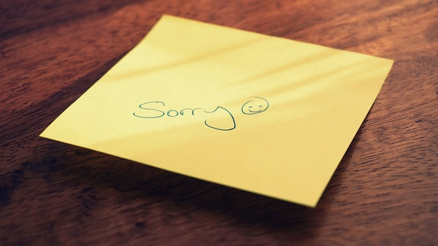 How Not To Apologize